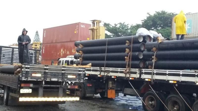 Comprar tubo de ferro fundido para saneamento