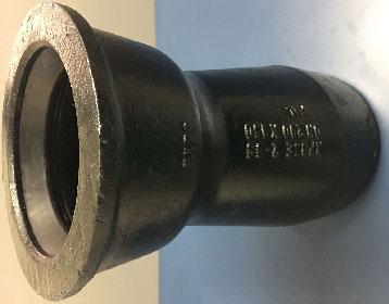 Conexões e válvula em ferro fundido