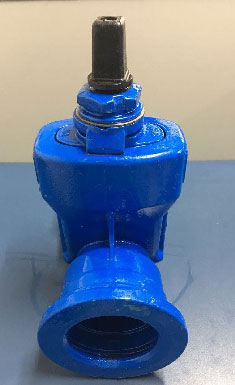Conexões e válvula para saneamento