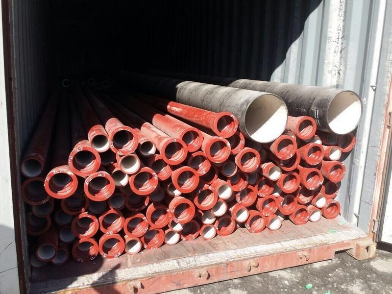Tubo ferro fundido revestido