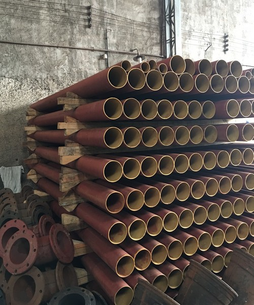 Tubo de ferro fundido smu